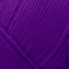 Пряжа для вязания ПЕХ Бисерная (100% акрил) 5х100г/450м цв.567 т.фиалка