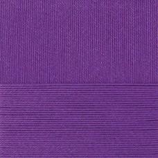 Пряжа для вязания ПЕХ Классический хлопок (100% мерсеризованный хлопок) 5х100г/250м цв.698 т.фиолетовый