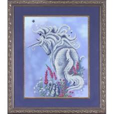 Рисунок на ткани бисером БЛАГОВЕСТ К-3020 Очарование 28,5х36,5 см
