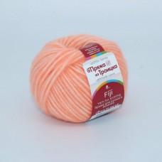Пряжа для вязания ТРО Фиджи (20% мериносовая шерсть, 60% хлопок, 20% акрил) 5х50г/95м цв.0189 яр.оранжевый