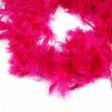 Боа - перо FBY-50-17 цв.фиолетовый уп.2м