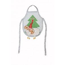 Набор для шитья и вышивания фартук МП-14х18- 8227