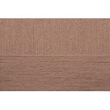 Пряжа для вязания ПЕХ Виртуозная (100% мерсеризованный хлопок) 5х100г/333м цв.161 мокко