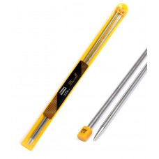 Спицы для вязания  прямые Maxwell, металл 35-55  d=5,5 мм  35 см  (2 шт.)