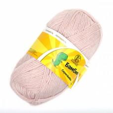 Пряжа для вязания КАМТ Бамбино (35% шерсть меринос, 65% акрил) 10х50г/150м цв.067 пудра