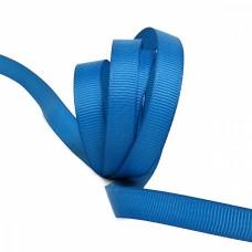 Лента Ideal репсовая в рубчик шир.10мм цв. 366 ярк.синий уп.27,42м