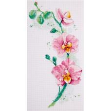 Набор для вышивания PANNA Ц-1887 Орхидея 18х30 см