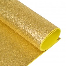 Фоамиран глиттерный Magic 4 Hobby 2 мм MG.GLIT.H008 цв.светло-золотой,  20х30 см