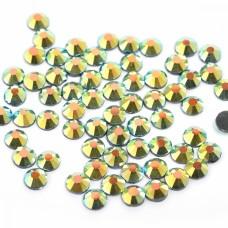 Стразы IDEAL клеевые SS-12 (3,0-3,2 мм) цв.AB JET уп.1440 шт.