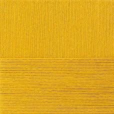 Пряжа для вязания ПЕХ Классический хлопок (100% мерсеризованный хлопок) 5х100г/250м цв.447 горчица