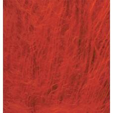 Пряжа для вязания Ализе Kid Royal (62% кид мохер, 38% полиамид) 5х50г/500м цв.056 красный