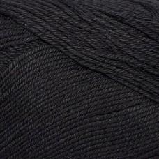 Пряжа для вязания КАМТ Альма (100% хлопок) 5х50г/170м цв.003 черный
