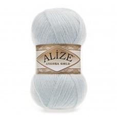 Пряжа для вязания Ализе Angora Gold (20% шерсть, 80% акрил) 5х100г/550м цв.514 зимнее небо