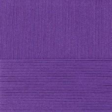 Пряжа для вязания ПЕХ Лаконичная (50% хлопок, 50% акрил) 5х100г/212м цв.191 ежевика