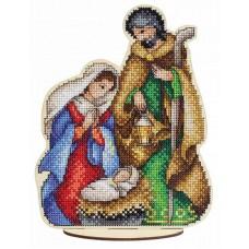 Набор для вышивания Щепка О-026 Святое семейство 19х15 см
