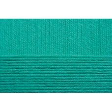 Пряжа для вязания ПЕХ Детская объёмная (100% микрофибра) 5х100г/400м цв.581 св.изумруд