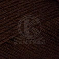 Пряжа для вязания КАМТ Акварель (50% леакрил, 50% акрил) 5х100г/110м цв.063 шоколад
