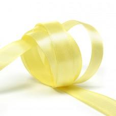 Лента атласная 1/2 (12мм) цв.4617 желтый IDEAL уп.27,4 м
