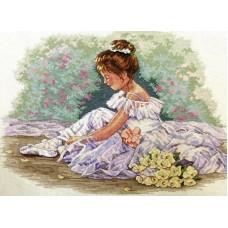 Набор для вышивания Classic Design 4471 Маленькая танцовщица 43х31 см
