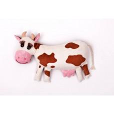 Набор для изготовления текстильной игрушки-грелки с кофейными зёрнами КП-209 Кофейная коровка