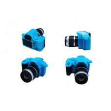 Фотоаппарат со вспышкой КЛ.28365 45х25х50мм, цв.синий