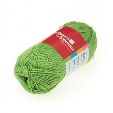 Пряжа для вязания ТРО Алина (100% мерсеризованный хлопок) 10х50г/220м цв.3295 яр.салат