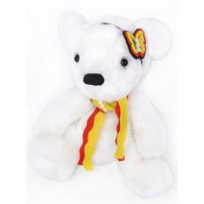 Набор для изготовления игрушек из меха MM-008 Белая медведица 25 см