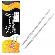 Крючки для вязания ТВ-CH03 Maxwell - 1 1,6мм цв.никель