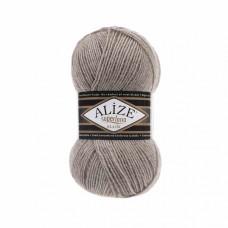 Пряжа для вязания Ализе Superlana klasik (25% шерсть, 75% акрил) 5х100г/280м цв.207 св.коричневый