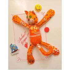 Набор для изготовления текстильной игрушки с магнитами в стиле пэчворк ПМ-801 Мартовский кот 32,5см