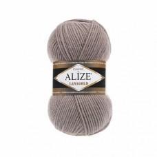 Пряжа для вязания Ализе LanaGold (49% шерсть, 51% акрил) 5х100г/240м цв.584 кофе с молоком