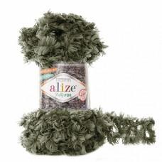 Пряжа для вязания Ализе Puffy Fur (100% полиэстер) 5х100г/6м цв.6117
