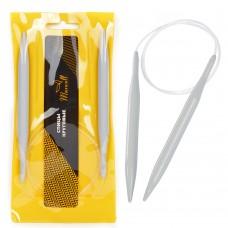 Спицы для вязания круговые Maxwell Gold, тефлон 6682 ?10,0 мм /80 см