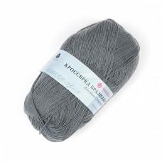 Пряжа для вязания ПЕХ Кроссбред Бразилия (50% шерсть, 50% акрил) 5х100г/490м цв.490 самшит