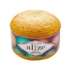 Пряжа для вязания Ализе Diva Ombre Batik (100% микрофибра) 2х250г/875м цв.7358