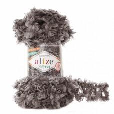 Пряжа для вязания Ализе Puffy Fur (100% полиэстер) 5х100г/6м цв.6105