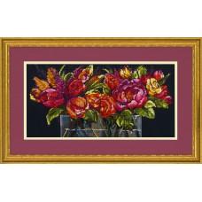 Набор для вышивания DIMENSIONS DMS-70-35364 Цветы радости 45,7х22,9 см