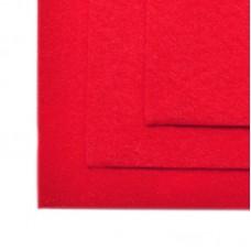 Фетр листовой мягкий IDEAL 1мм 20х30см FLT-S1 уп.10 листов цв.603 красный