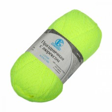 Пряжа для вязания КАМТ Праздничная (48% кашмилон, 48% акрил, 4% метанит) 10х50г/160м цв.236 салат неон