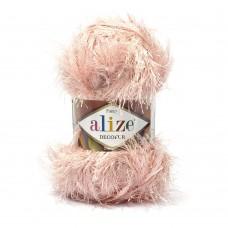 Пряжа для вязания Ализе Decofur Травка (100% полиэстер) 5х100г/100м цв.0161 пудра