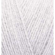 Пряжа для вязания Ализе Superlana TIG (25% шерсть, 75% акрил) 5х100г/570 м цв.208 св.серый