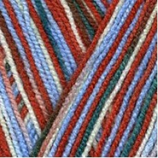 Пряжа для вязания ТРО Пчелка (100% акрил) 10х100г/500м цв.4246 секционный