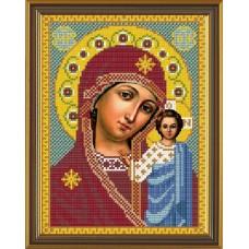 Наборы для вышивания бисером НОВА СЛОБОДА С 9024 Казанская Богородица 18x24 см
