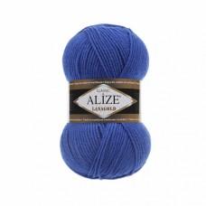 Пряжа для вязания Ализе LanaGold (49% шерсть, 51% акрил) 5х100г/240м цв.141 василек