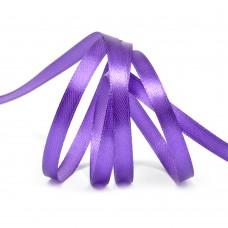 Лента атласная 1/4 (6мм) цв.3118 фиолетовый IDEAL уп.27,4 м