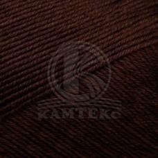 Пряжа для вязания КАМТ Альма (100% хлопок) 5х50г/170м цв.063 шоколад