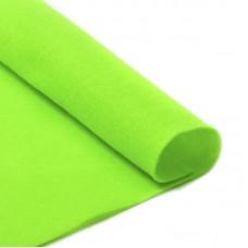 Фетр в рулоне жесткий IDEAL 1мм 100см FLT-H2 уп.10м цв.674 салатовый