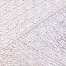Пряжа для вязания КАМТ Мотылек (70% хлопок, 30% лавсан) 5х50г/140м цв.002 отбелка