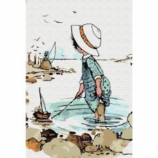 Набор юного художника Molly KH0889 Увлекательная рыбалка (13 Цветов) 20х30 см