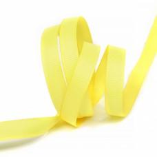 Лента Ideal репсовая в рубчик шир.10мм цв. 640 желтый уп.27,42м